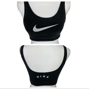 Vintage 90's Nike Athletic Spell Out Sports Bra